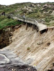 Ejemplo de la erosión nas prais