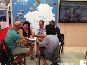 Sanxenxo se promocióna no Salón Internacional da Rochelle en Francia, como destino naútico de excelencia