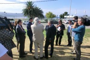 Comezan as obras de construción do centro de saúde de Panxón