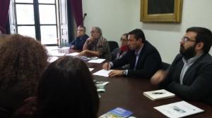 """Reunión en Baiona o grupo de traballo do proxecto de turismo e medioambiente """"Quality Coast"""