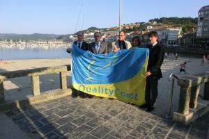 """Reunión en Baiona o grupo de traballo do proxecto de turismo e medioambiente """"Quality Coast"""""""