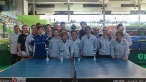 Os xogadores de AD Vincios de Tenis de Mesa clasifícanse para a proba nacional