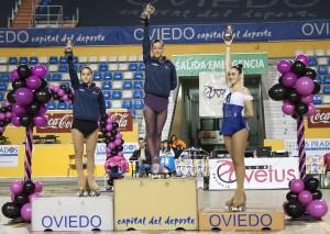 O Club de Patinaxe Artística CPA Gondomar faise co podio no Trofeo Nacional Cidade de Oviedo