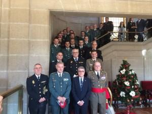 Subdelegación do Goberno en Pontevedra acolleu o acto de conmemoración do 36º Aniversario da Constitución Española