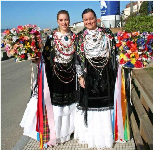 Danza de San Sebastian en Aldán. Mais de 300 anos dunha danza declarada de Interese Turístico Galego.