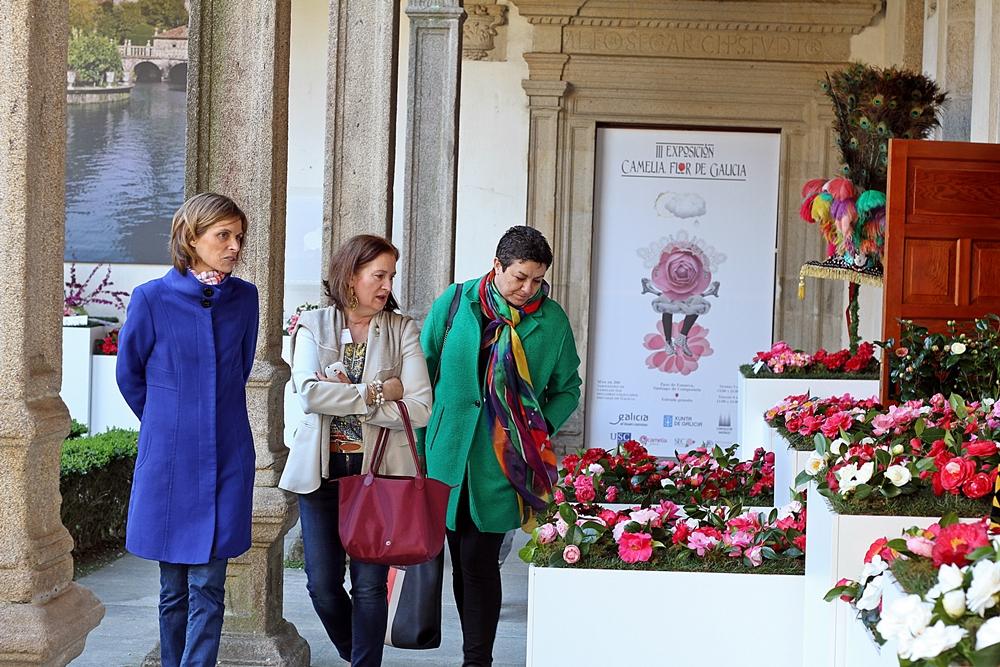 Nava-Castro-directora-Turismo-Galicia-visita-terceira-edición-exposición-Camelia-flor-de-Galicia