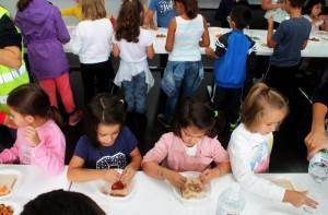 A actividade enmárcase dentro do Programa de Fomento de Consumo das Conservas para nenos da Consellería de Medio Rural e Mar