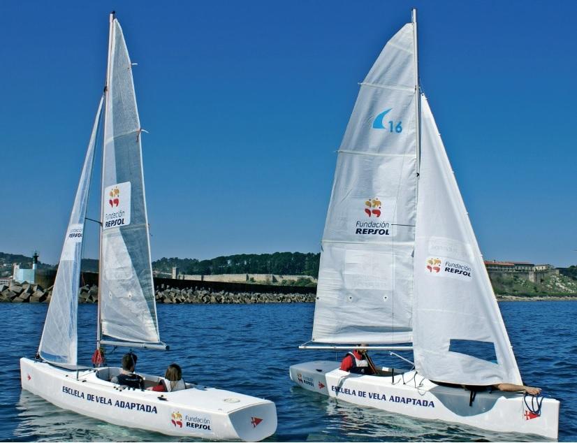 equipo-persoas-discapacidade-CAPD-Redondela-Xunta-participan-Príncipe-Asturias-Vela-MRCY-Baiona