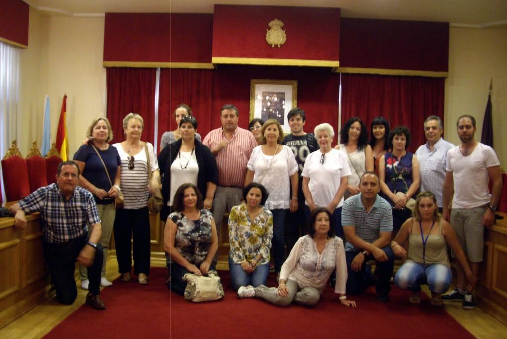 Membros-Asociación-Amigos-Camiño-Santiago-Granada-foron-recibidos-Concello-Tui