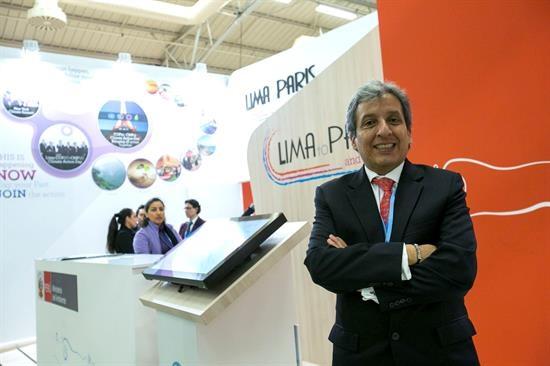 O ministro de medio ambiente de Perú, Manuel Pulgar