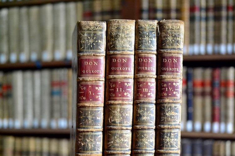 O «Quixote» de Ibarra publicouse en 1780.